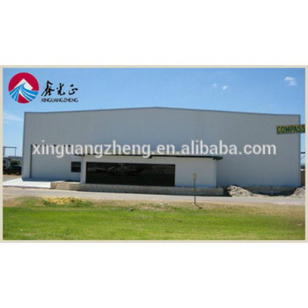 prefabricated fabric aircraft steel structure frame hangars #1 image