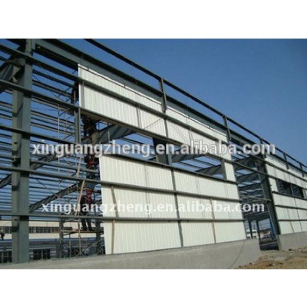 galvanized steel struction and manufacture workshop light steel structure #1 image