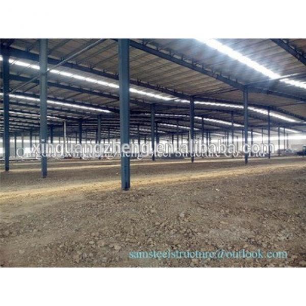 Prefabricated Double Storey Warehouse Steel Buildings #1 image