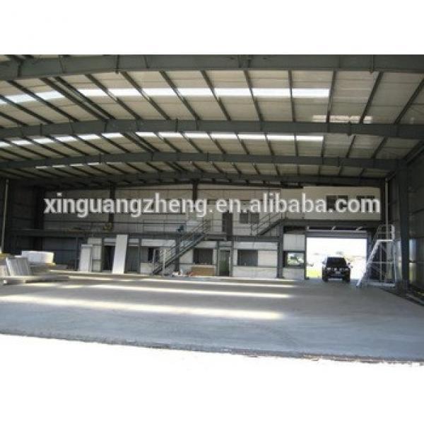 prefabricated steel structure airplane hangar large #1 image