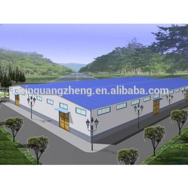 Prefabricated Steel Structural Industrial paint Factory Layout Design #1 image