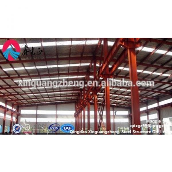 Prefabricated Metallic Building Steel Structure Storage in UAE #1 image