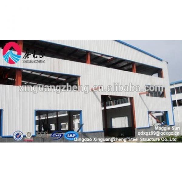 Prefabricated Metallic Building Steel Structure Workshop in UAE #1 image