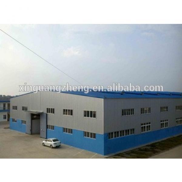 1000m2 single span steel structure for workshop factory design #1 image