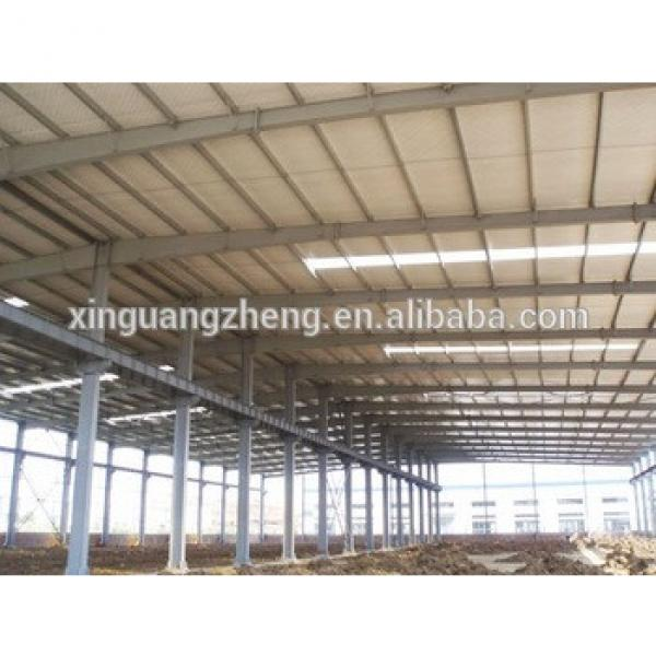 1000m2 single span steel structure for warehouse factory design #1 image