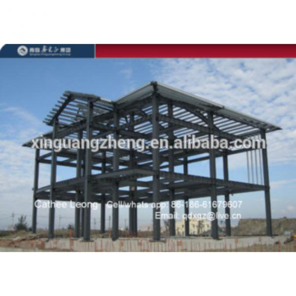 Prefabricated Steel Structural Industrial Paint Shed Layout Design #1 image