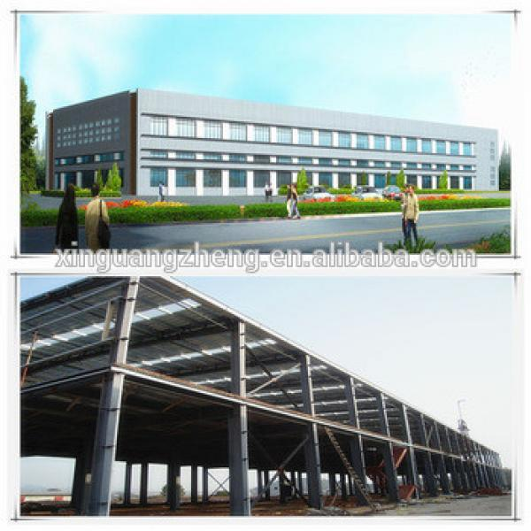 Prefabricated Steel Structure Industrial Factory Shed Design Layout #1 image
