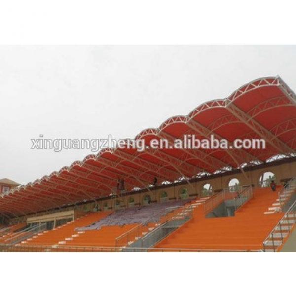CE certification football building Steel structure PE grandstand building #1 image