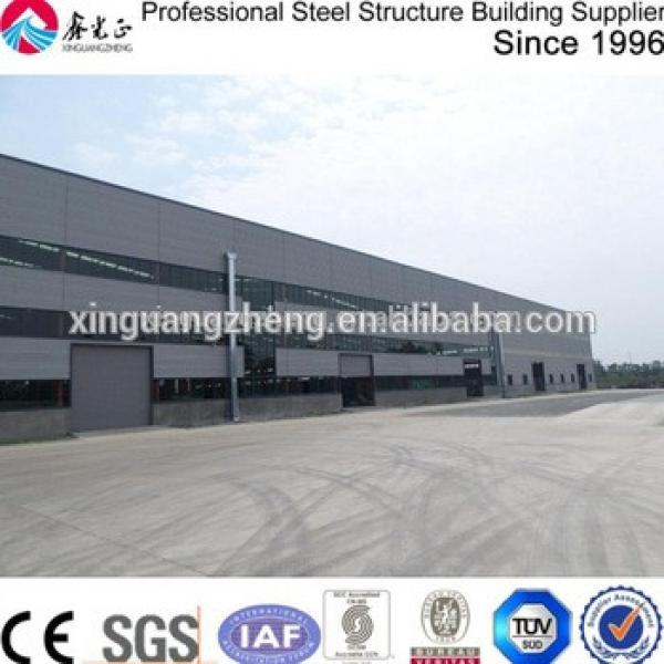 prefabricated building modern light steel structure frame warehouse shed #1 image