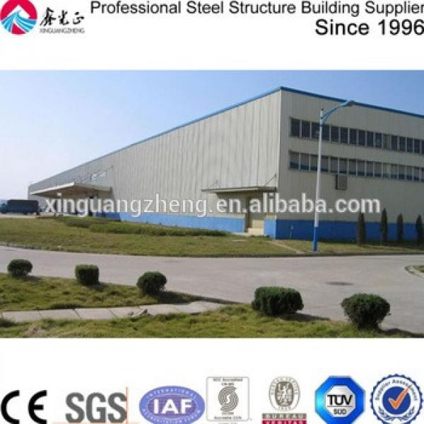 prefabricated steel structure building qatar steel warehouse shed #1 image