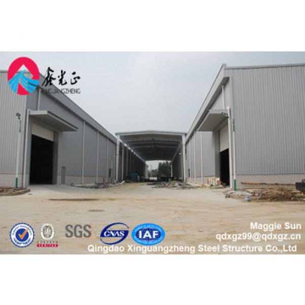 Light Type Prefabricated Steel Structure Warehouse construction costs #1 image