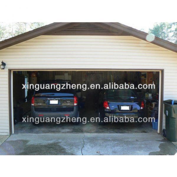 Prefab steel structure garage /warehouse/workshop/poultry shed/aircraft/building #1 image