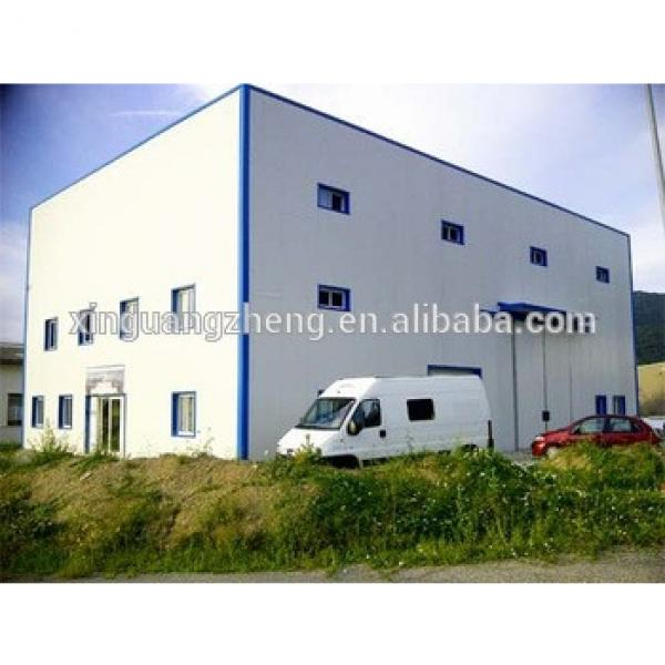 Cheap Light Steel Prefabricted Building Galvanized Structure Warehouse #1 image
