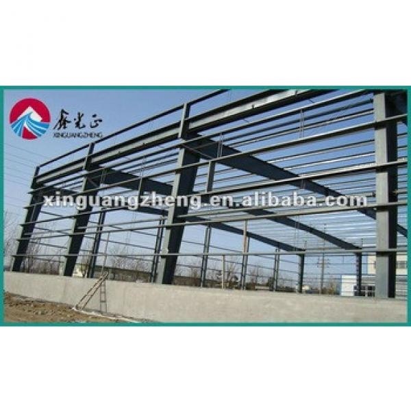Light Steel structure fire sandwich panel building/warehouse/whrkshop/poultry shed/car garage/aircraft #1 image
