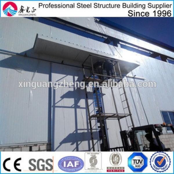 prefab high quality steel structure warehouse saudi arabia #1 image