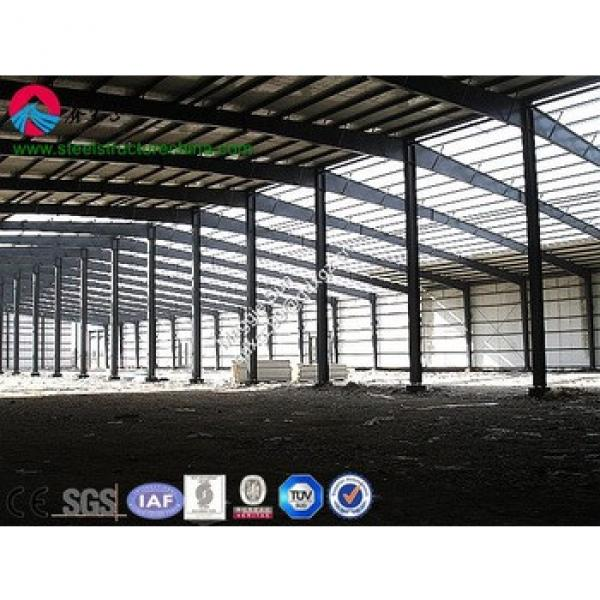 Building Industrial Construction steel structure storage warehouse #1 image