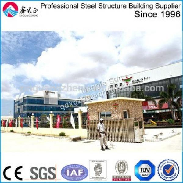 Building Prefabricated Steel Structure Shopping Mall #1 image