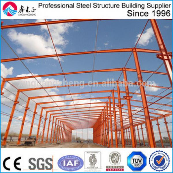 manufacture prefabricated steel structure warehouse #1 image