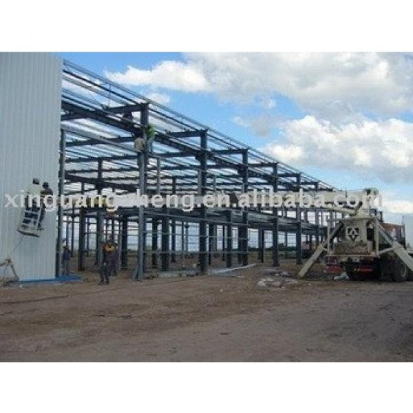 prefabricated light steel frame strcuture construction building #1 image