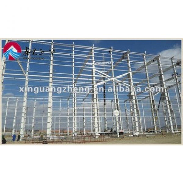 sandwich frame galvanization prefabricated steel structure #1 image