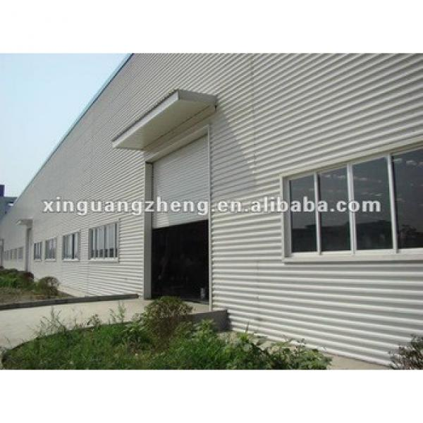 China cheap design light metal steel structure prefab warehouse #1 image