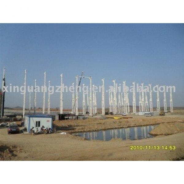 prefabricated light steel structure warehouse & workshop design, installation #1 image