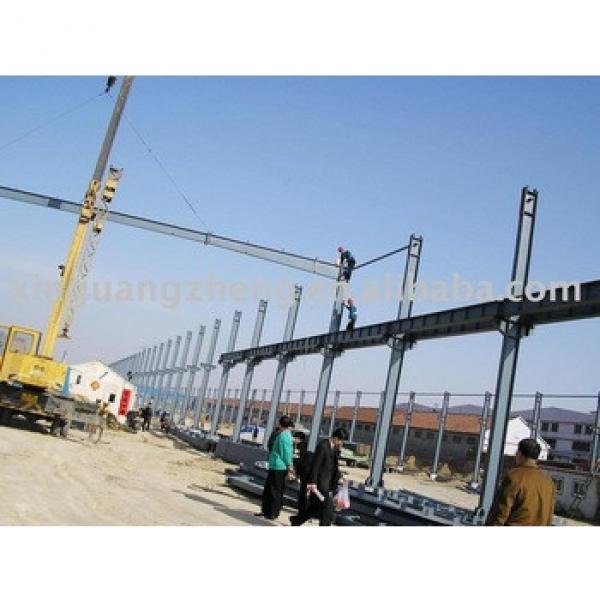 prefabricated light steel structure warehouse & workshop design, installation #1 image