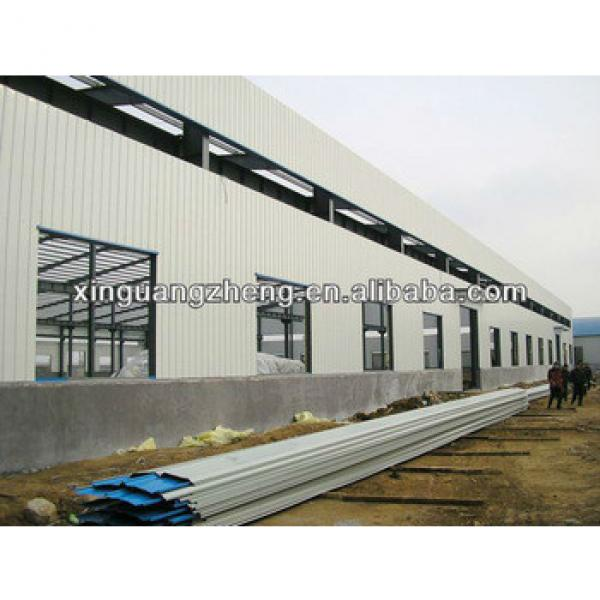 roof system light steel structure warehouse construction steel structure building #1 image