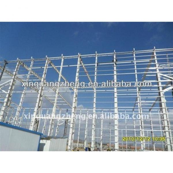 prefab light metal steel frame buildings factory warehouse construction project #1 image