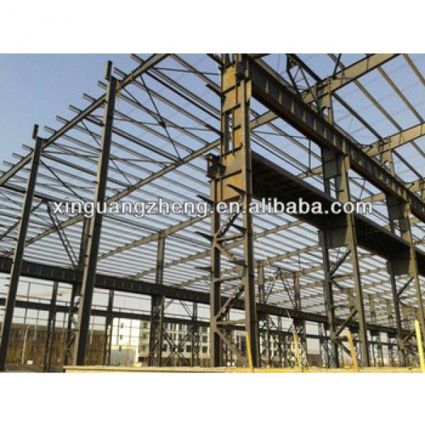 prefabricated modular metal steel frame structure warehouse construction building house #1 image