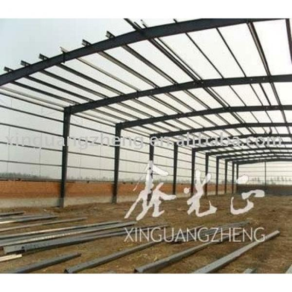 light steel structure prefab workshop or warehouse or church #1 image
