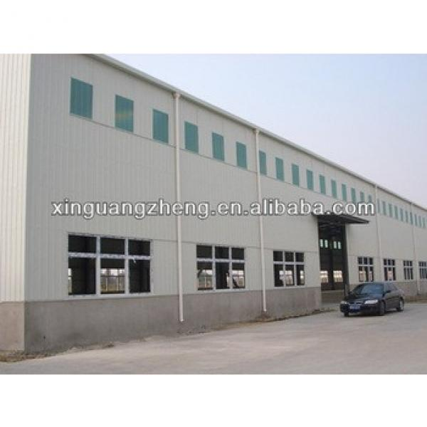 prefabricated light steel structure two storey warehouse building #1 image