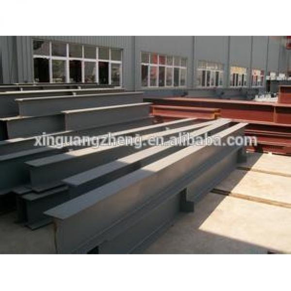 prefabricated steel structure warehouse structural steel beam #1 image