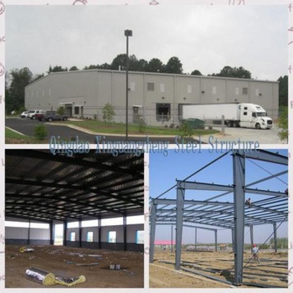 ISO 900 Certificated prefab Warehouse #1 image