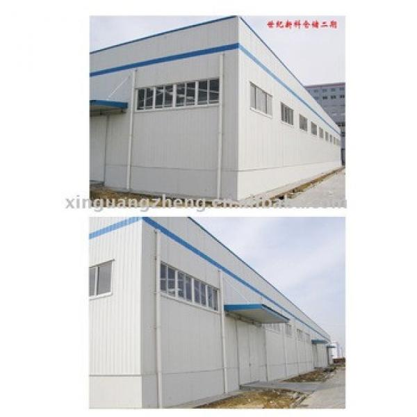 prefabricated light steel structure warehouse shed workshop design and construction #1 image