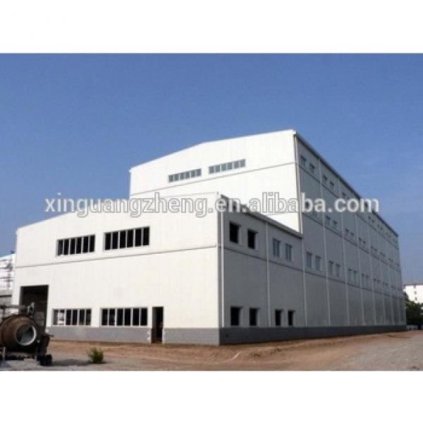 prefabricated shed erection light steel structure ware house #1 image