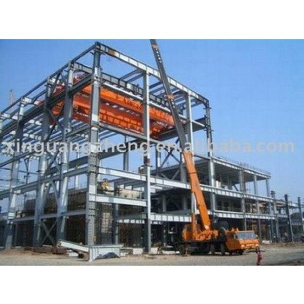 prefabricated steel structure warehouse workshop steel shed with design #1 image