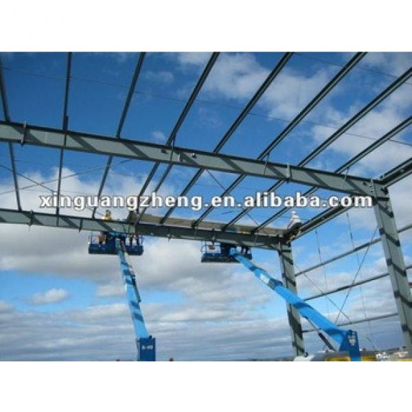 Steel structure fiberglas ssandwich panel building/warehouse/whrkshop/poultry shed/car garage/aircraft/building #1 image