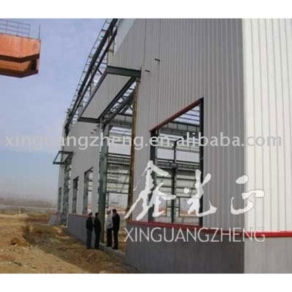prefabricated large sheds steel structure sheds #1 image
