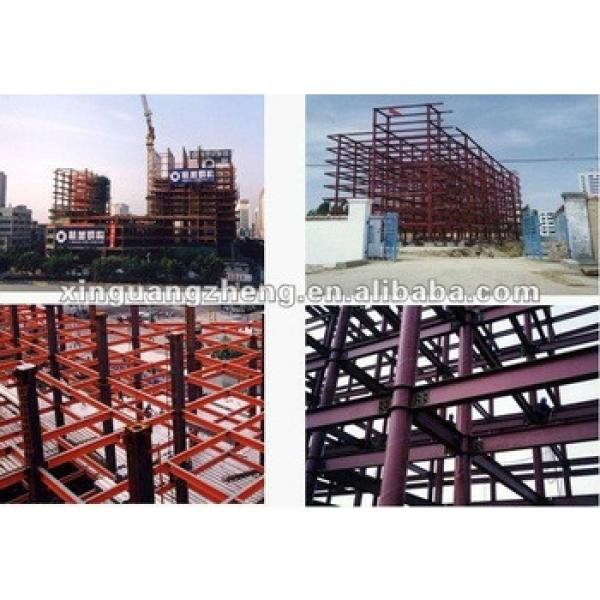 Steel construction sandwich panel warehouse /building /car house/ aircraft/poutry shed #1 image