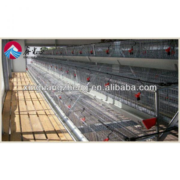 Q235B materials prefabricated steel structure chicken shed/house/homes/car shed/garage #1 image