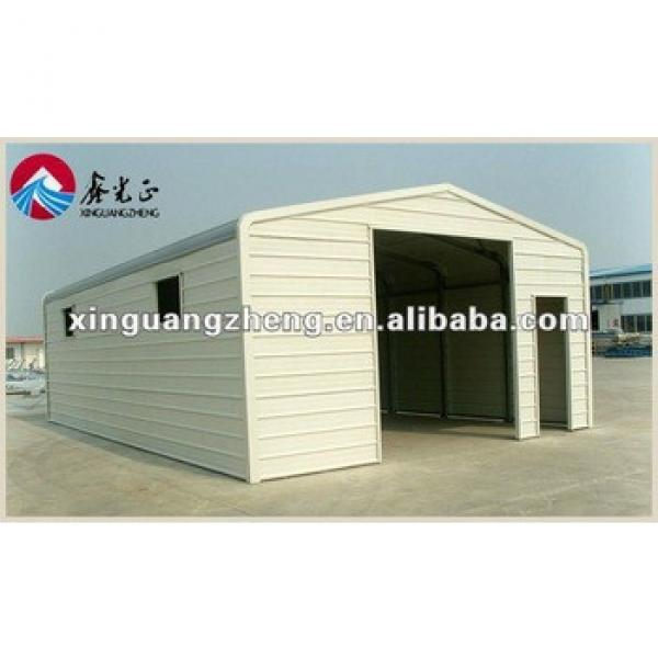 Steel structure prefabricated garage /shelter/warehouse/workshop/poultry shed/aircraft/building #1 image