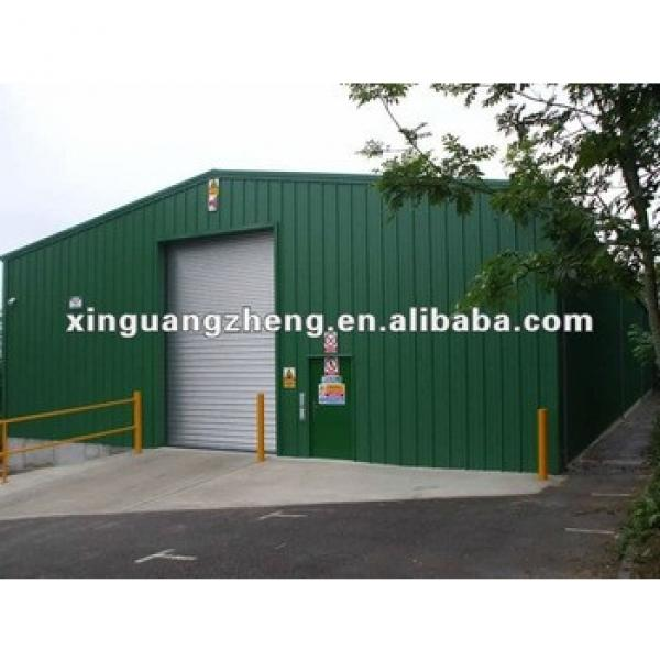 Steel structure prefabricated sandwich panel building project/warehouse/whrkshop/poultry shed/car garage/aircraft/building #1 image
