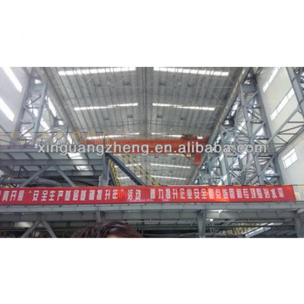 prefabricated steel structure Pre engineered car shed /poultry shed/car garage/aircraft/building #1 image