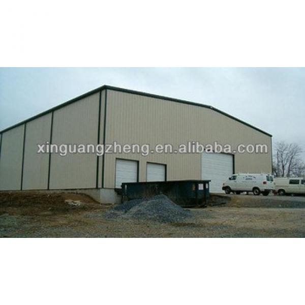 prefabricted steel structure chicken poultry farme house for broiler design /poultry shed/car garage/aircraft/building #1 image