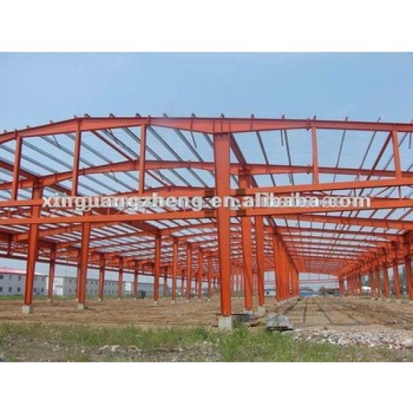 Steel H beam frame metal carport /poutry shed/labor dormitry #1 image