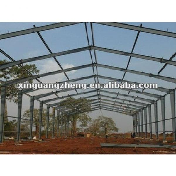 prefabricated steel structure warehouse/office/homes/workshop/poutry shed/chicken house/garager/project #1 image