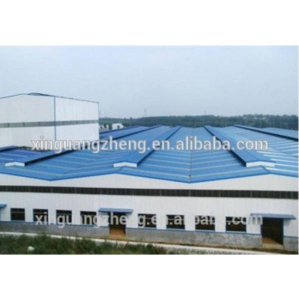 construction low cost steel structure manufacture for warehouse #1 image