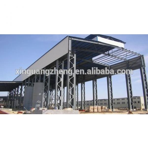prefabricated light modular warehouse steel structure shed #1 image