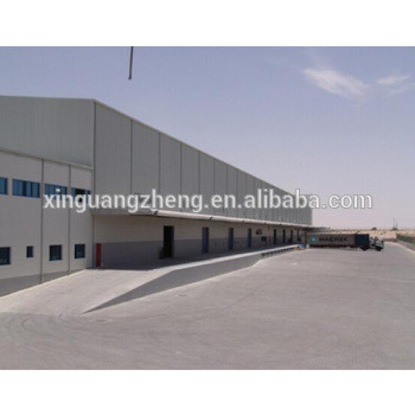 easy assembly light portal steel arch warehouse prefabricated buildings from china #1 image